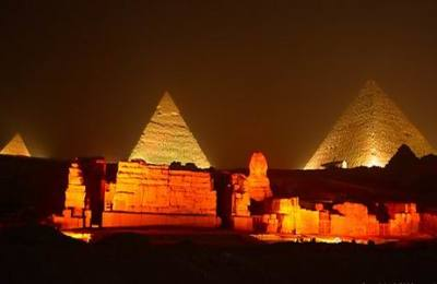 Sound & Light Show at the Giza Pyramids