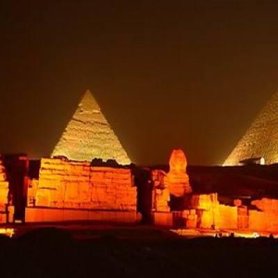 Sound & Light Show at the Giza Pyramids