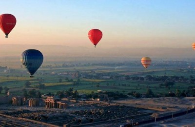 Egypt Travel by hot air baloon