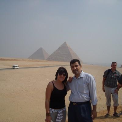visit the giza pyramids