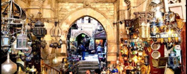 Khan El Khalili Bazaars
