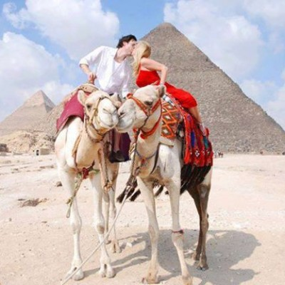 Camel Riding at the Giza Pyramids